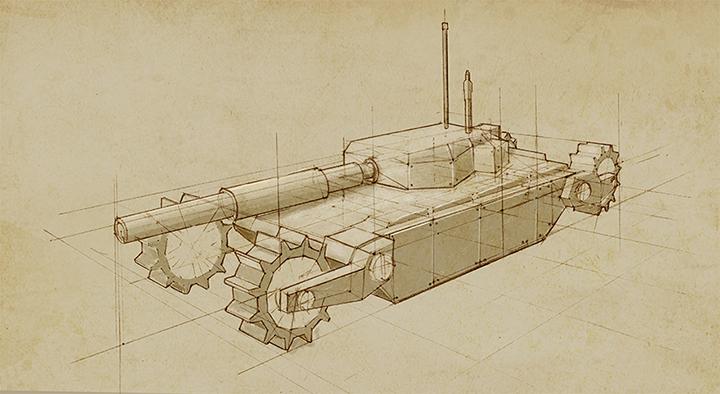 Tank Concept Art